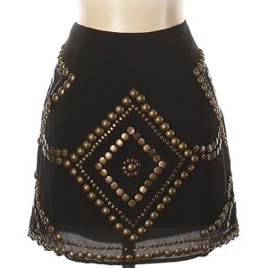 [a30-3] Nordstrom Remain Embellished Skirt